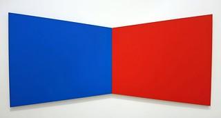 Blue Red - Ellsworth Kelly (3502) Noiselessened