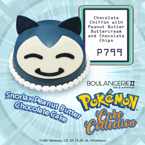 Pokemon Cakes at Boulangerie 22