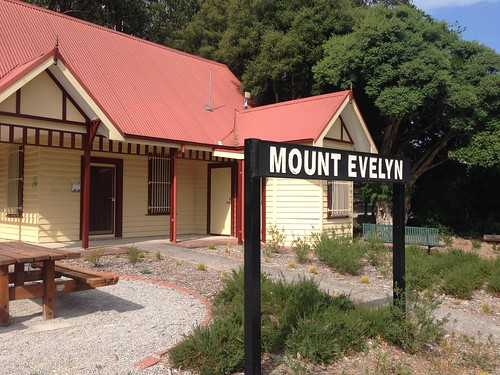 Closed Mount Evelyn Railway Station