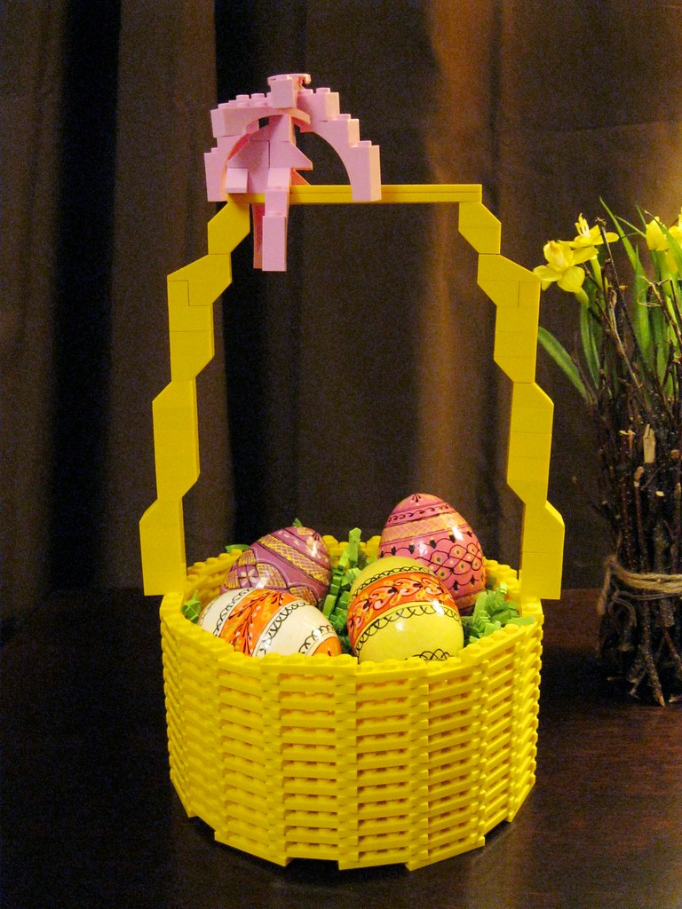 Lego easter basket kdweezer flickr lego easter basket by kdweezer lego easter basket by kdweezer negle Choice Image