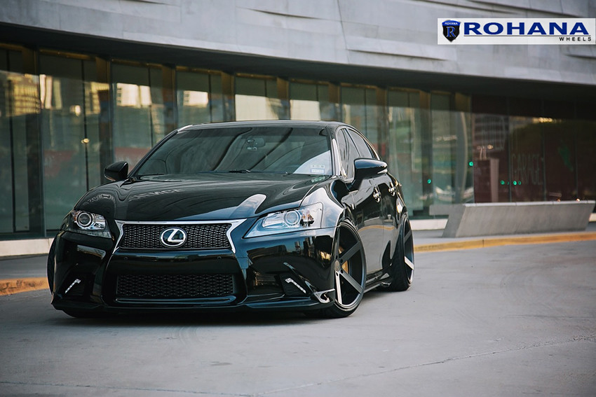 Lexus Gs F Rims >> Lexus GS350 F-Sport - RC22 Matte Black (11) | Rohana Wheels | Flickr