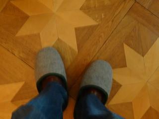 Zapatos mopa