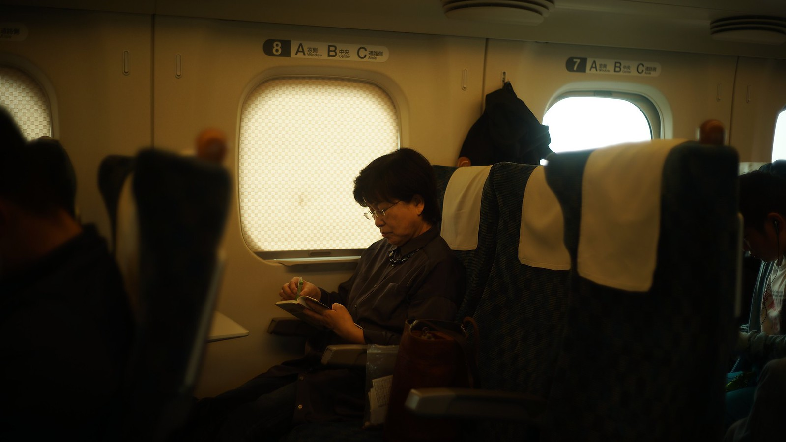 On the Shinkansen #SonyA7 #Voigtlander40mm #foto #japan15 #Shinkansen