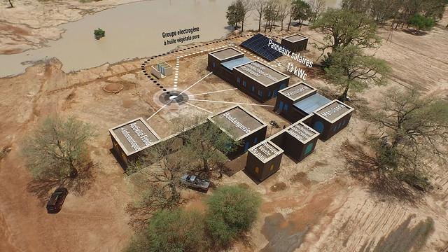 Zone d'activités électrifiée au Mali
