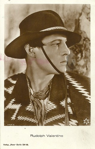 Rudolph Valentino in A Sainted Devil (1924)