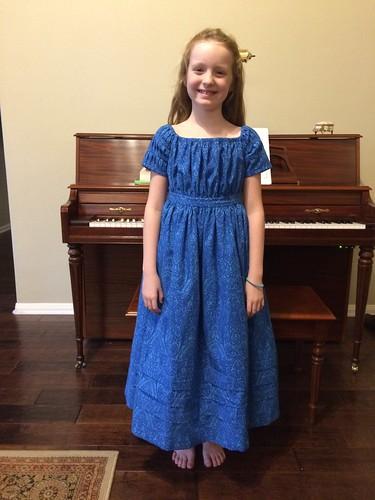 1830's Girl's Dress