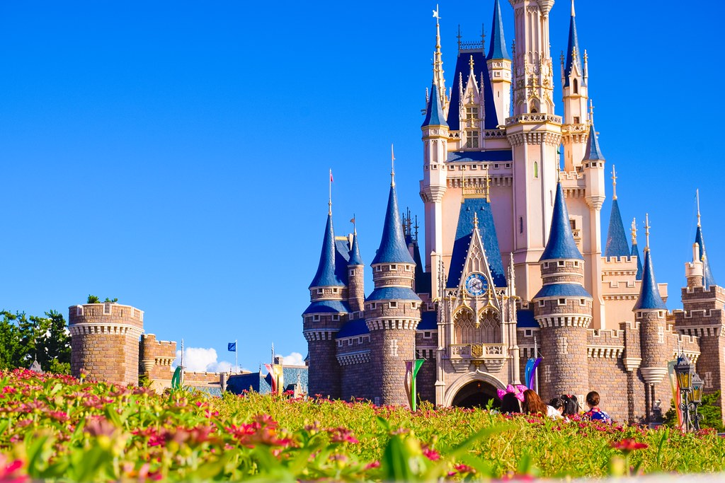 Cinderella Castle Tokyo Disneyland Tdl Tokyo Disney R Flickr