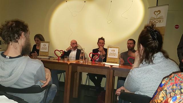 "09/02/2017 - TABLE-RONDE ""AMOUR 2.0"" avec Jean-Claude Kaufmann, Isabelle Flaten, Hélène Schwaller et Arnaud Friedmann"
