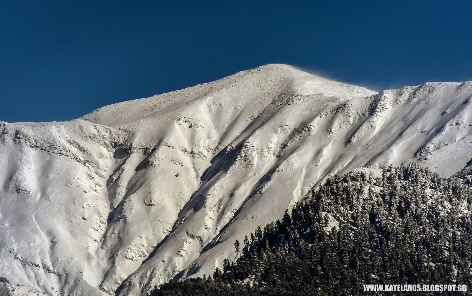 κατελανος παναιτωλικο ορος χιονια βουνο κορυφη