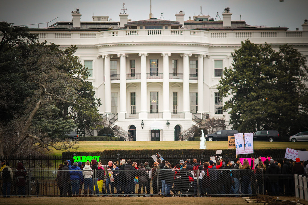 Solidarity at the White House