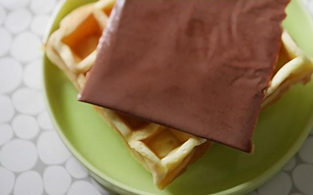 ブルボン スライス生チョコレート チョコシート