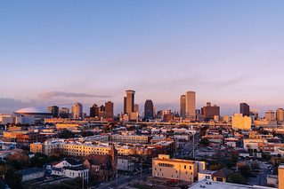 Downtown Views from Hot Tin Bar - Pontchartrain Hotel - New Orleans, LA | by Paul Broussard NOLA