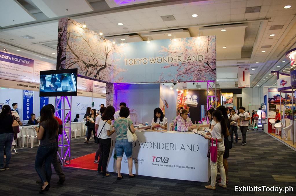 Tokyo Wonderland Exhibition Stand