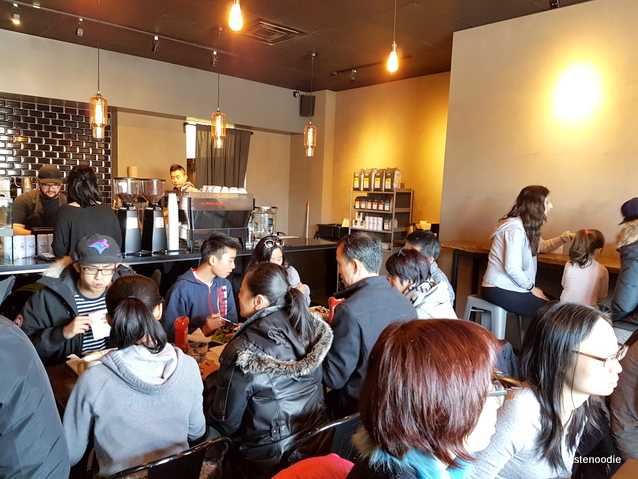 Alchemy Coffee Markham interior