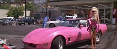 Angelyne and her Pink Corvette | by catiadan