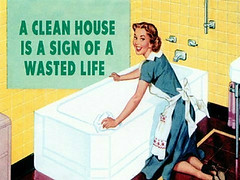 A Clean House is a sign of a wasted life | by thisgeekredes