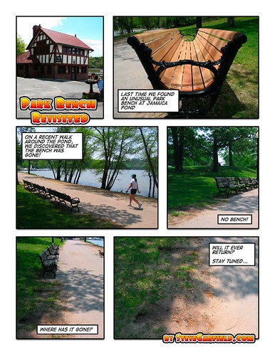 Park Bench Revisited | by stevegarfield