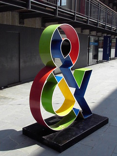 Ampersand sculpture | by Whitingx
