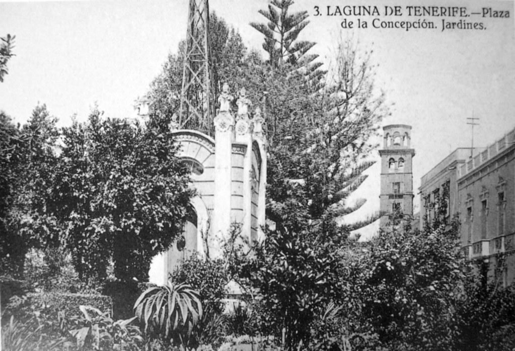1920 la laguna plaza de la concepcion jardines v orlock for Lagunas de jardin