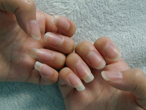 Beautiful Long Natural Nails
