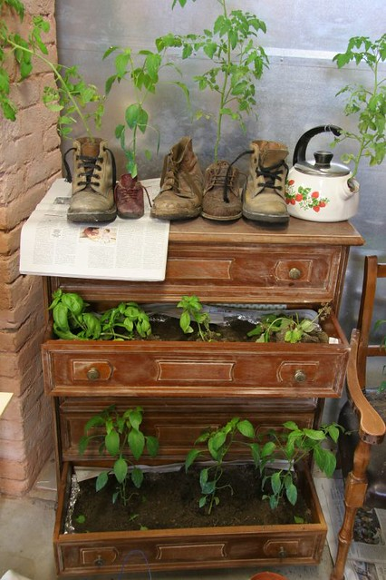 How To Recycle Old Shoes Tea Pots And Furniture