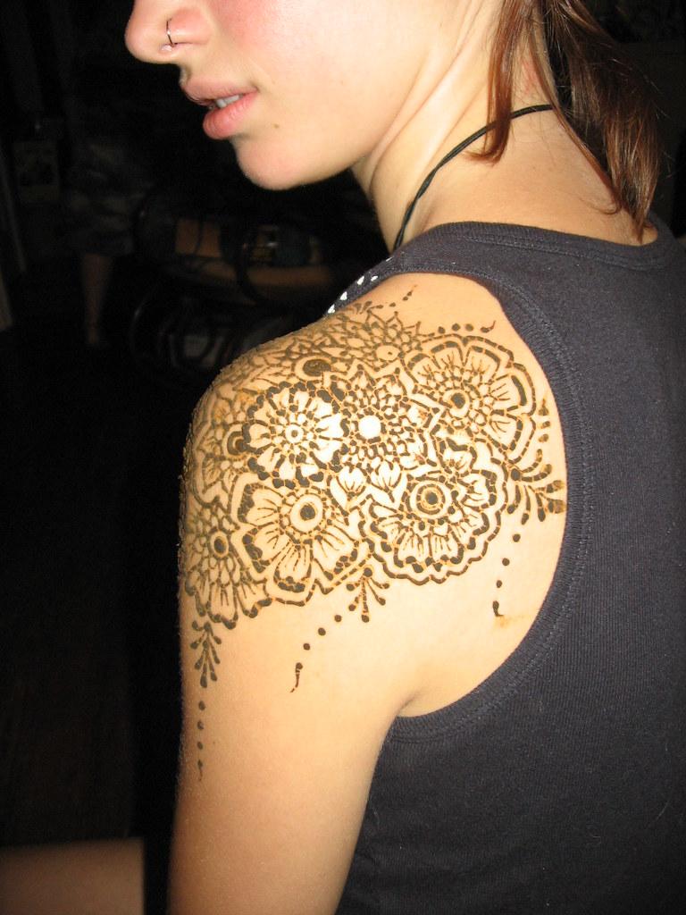Mehndi Flower Bunch : Affia s henna hennaed a bunch of flowers on