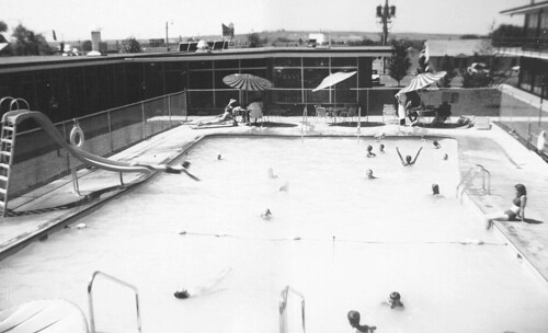 Great falls montana holiday inn pool 1960s a 1960s view - Swimming pools in great falls montana ...