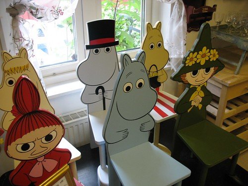Moomin Chairs | by robotpolisher