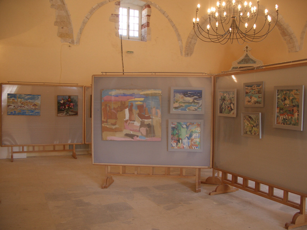 Art exhibition in the old mosque