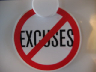 no excuses | by vandys