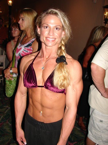 female before after steroids