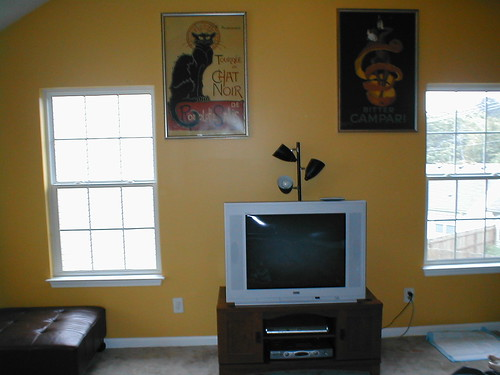 The Tv Wall I So Love Those Posters I Got To Hang Above