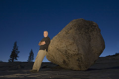 Steve and his rock | by Lance Keimig