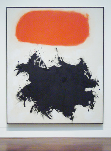 Quot Cadmium Red Over Black Quot By Adolph Gottlieb This