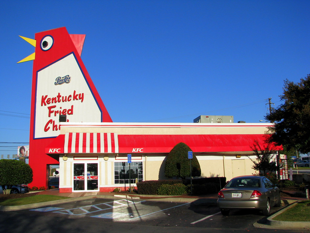 The Big Chicken Johnny Reb S Was A Restaurant In