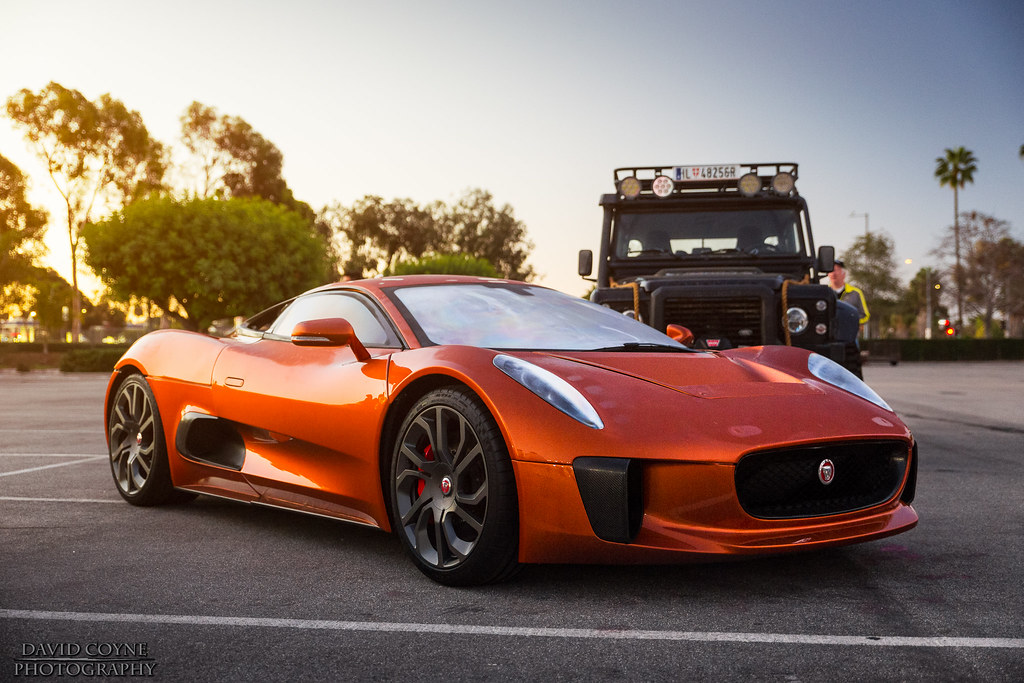 By David Coyne Photography The Jaguar CX75 From The New James Bond Film  Spectre! | By David Coyne Photography