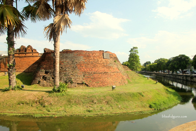 Walled City Moat Chiang Mai Thailand