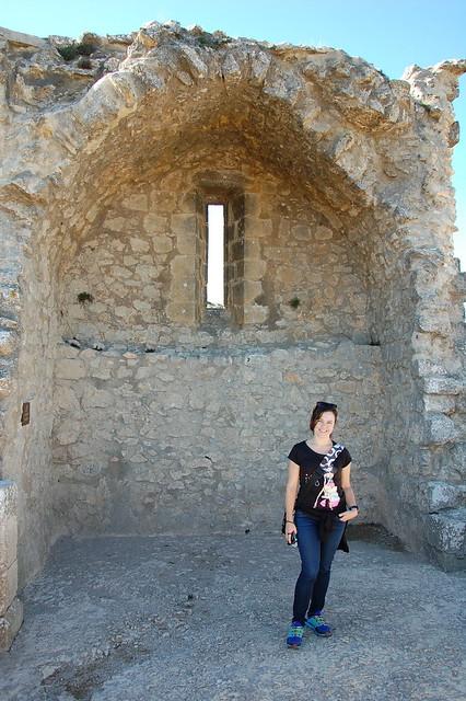 Capilla de Sant Jordi en el castillo de Perypertuse