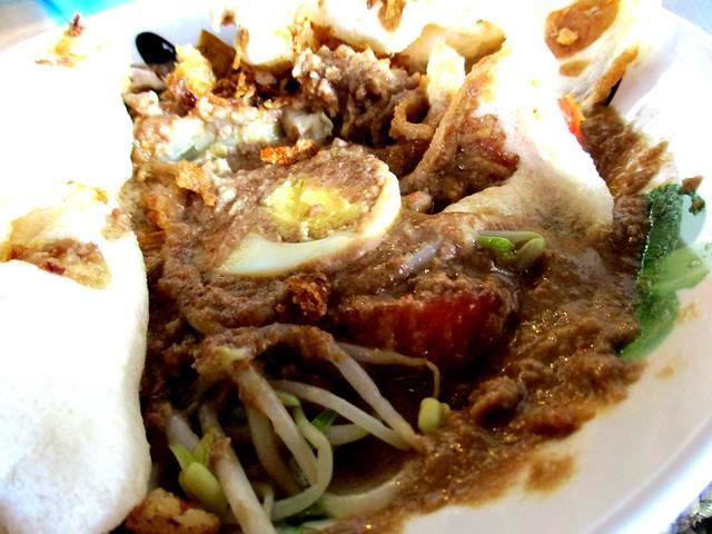 Ayam Penyet Ria, Sibu gado gado 2