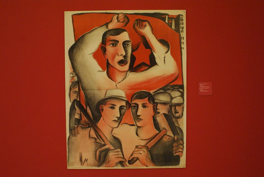 Peinture social réaliste à Prague.