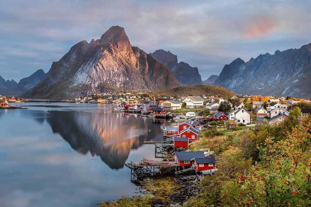 Reine Norwegen Lofoten Sonja Sayer Flickr