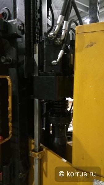 Гидравлический пневмоударный бур для сваебойной машины ORTECO ВТР HEAVY DUTY