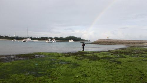 Rainbow over Seringat-Kias