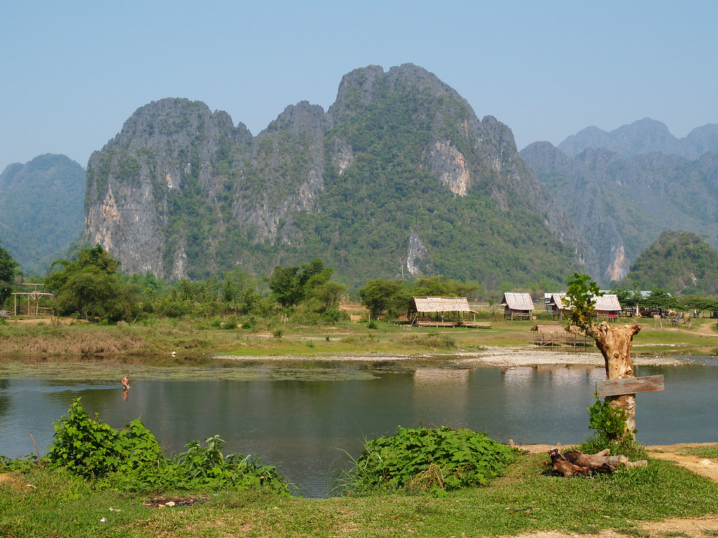Vagamundos 2005. Laos. Vieng Viang