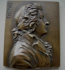 Mozart Medal By Franz Stiasny