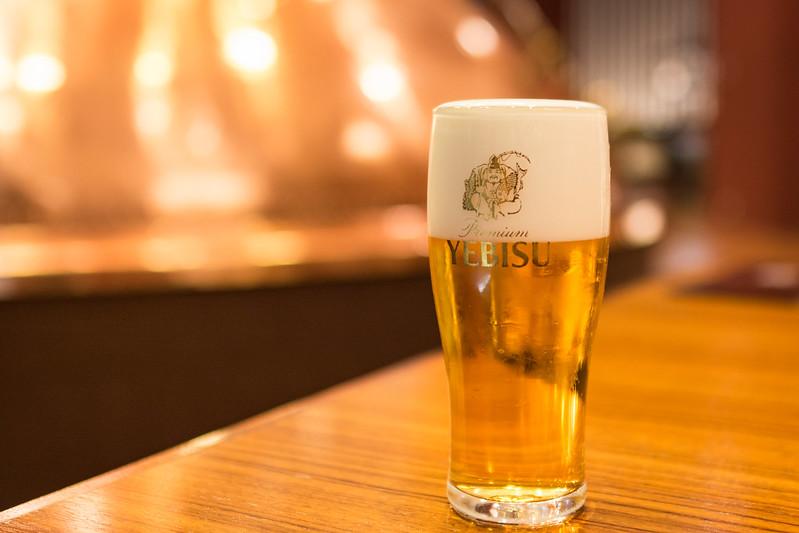 ヱビスビールツアーで飲むヱビス