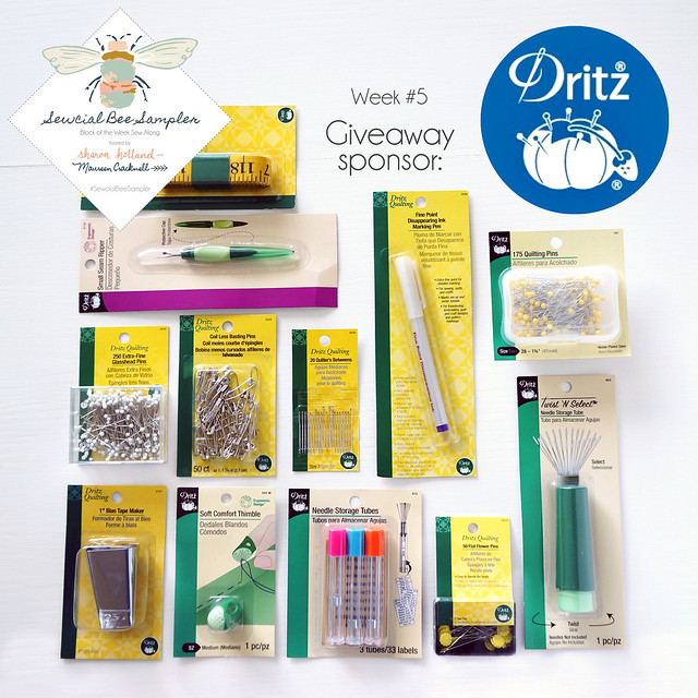 A Sewcial Bee GIVEAWAY with Dritz!