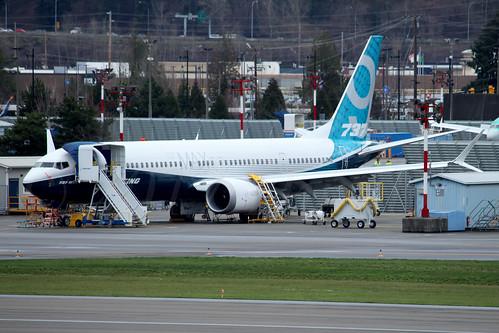 Boeing 737 MAX 9 Boeing Company N7379E