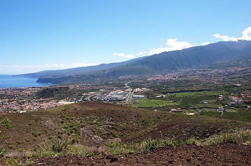View from Montaña de los Frailes, Los Realejos, Tenerife