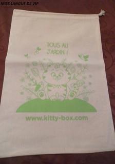 """sac en coton """"Tous au jardin"""""""